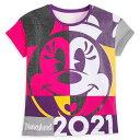 【取寄せ】 ディズニー Disney US公式商品 ミニーマウス ミニー ディズニーランド Tシャツ トップス 服 シャツ 女の子用 子供用 女の子 ガールズ 子供 [並行輸入品] Minnie Mouse Fashion T-Shirt for Girls ? Disneyland 2021 グッズ ストア プレゼント ギフト クリスマス