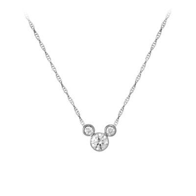 【取寄せ】ディズニー Disney US公式商品 ミッキーマウス ネックレス ジュエリー アクセサリー 【小サイズ】 [並行輸入品] Mickey Mouse Necklace - Small