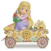 【取寄せ】【送料無料】 ディズニー(Disney)US公式商品 塔の上のラプンツェル プリンセス プレシャスモーメント 置物 フィギュア 人形 プレシャス・モーメンツ [並行輸入品] ''I'm in Heaven to Be Seven'' Birthday Rapunzel Figurine by Precious Momen