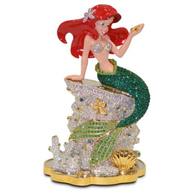 【取寄せ】ディズニー Disney US公式商品 リトルマーメイド アリエル Ariel プリンセス フィギュア 置物 人形 アリバスブラザーズ [並行輸入品] The Little Mermaid Figurine by Arribas Brothers