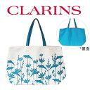 ショッピングカジュアルトート クラランス ドルフィン柄カジュアルトートバッグ(001) 【clarins】【W_312】