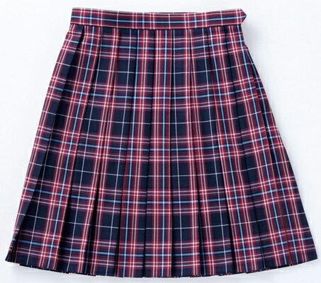 【送料無料】スクールスカート 【BENCOUGAR femme】 赤チェック 学生服 女子 レディース 【532P19Apr16】