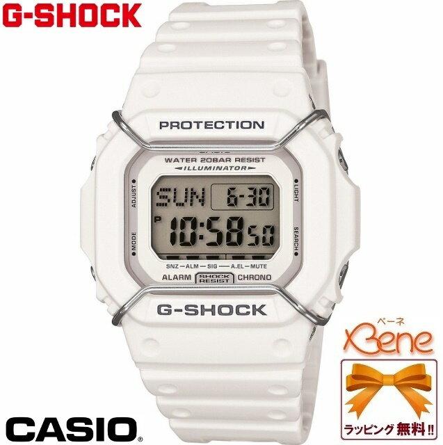 CASIO/カシオ G-SHOCK/ジーショック ベーシックモデルDW-D5600P-7JF 【正規品・送料無料!】カジュアルスタイルに映えるプロテクターをまとったスクエアフェイス♪