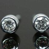 【】プラチナ900製ダイヤモンド3ミリ スマートピアス【smtb-m】 【楽ギフ包装】 【楽ギフメッセ】※こちらのピアスは1ペアの金額です