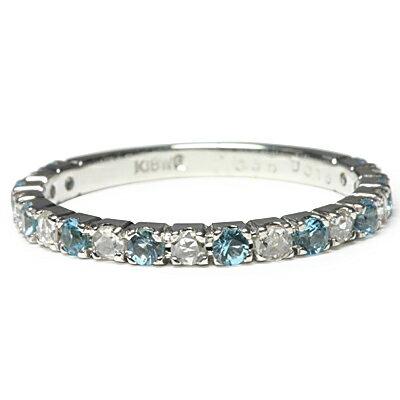スカイブルートパーズ ローズカット ダイヤモンド...の商品画像