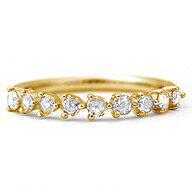 ローズカットダイヤモンド シンプル デザイン ダイヤモンド プロポーション ローズカットダイヤ