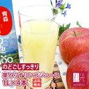 葉とらずりんごジュース青研の葉とらずりんごジュース 1000g×4本入り ストレート100% 青森 りんごジュース 「北海道・沖縄は+1100円」