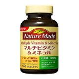 ネイチャーメイド マルチビタミン&ミネラル (100粒入/50日分)【5,400以上で】