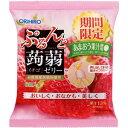 オリヒロ ぷるんと蒟蒻ゼリー パウチ イチゴ(20g×6個)【秋・冬限定】