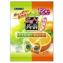 ぷるんと蒟蒻ゼリーパウチ マスカット+オレンジ 20g×6個