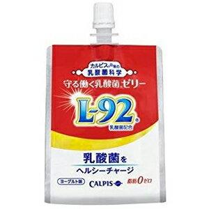 カルピス 守る働く乳酸菌 ゼリー 口栓付パウチ 180g×6個(L-92乳酸菌配合) あす楽対応