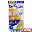 DHC 20日分 肝臓エキス+オルニチン 60粒 メール便送料無料