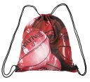 ナップサック マーブルレッド SAK007MRD | 正規品 SPALDING スポルディング バスケットボール バスケ バッグ メンズ レディース 男性 女性 ユニセックス 男女兼用