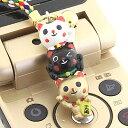 ◆開運!招き猫3連ストラップ/金運・商売繁盛・厄除け【福袋価格】【RCP】