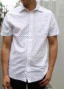 BANANA REPUBLIC(バナナリパブリック)SLIM FIT PRINT SHIRTS (スリムフィット プリント半袖シャツ)日本未発売モデル送料無料 あす楽対応