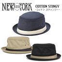 ニューヨークハット スティンジー STINGY