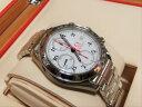 未使用品 オメガ スピードマスター デイト 3515.20 クロノ メンズ 自動巻き SS 腕時計 ホワイト文字盤 OMEGA☆新品同様☆ 【中古】【送…