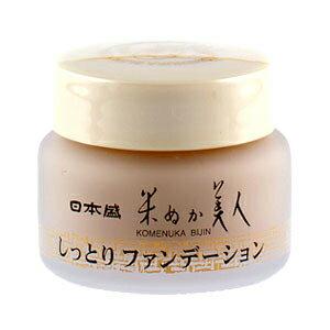 日本盛 米ぬか 美人しっとり ファンデーション 30g通販