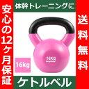 【送料無料】 ケトルベル 16kg 色:パープル ピンク 正規品/12ヶ月保証 体幹 トレーニング ...