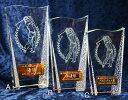 トロフィー【送料無料&文字無料】ゴルフ【30%OFF】クリスタルガラス製トロフィーS-CR-1 Bサイズ●高さ190mm