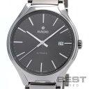 ラドー 【RADO】 トゥルー R27057102 メンズ ブラック セラミック 腕時計 時計 TRUE BLACK CE 【中古】