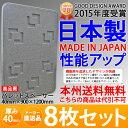 【送料無料】 {メーカー直送}日本製パレットスペーサー 厚み40mm 900×1200mm ロジボード