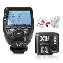 【正規品】GODOX Xpro-C送信機 Godox TTL X1R-C受信機 TTL2.4Gワイヤレスフラッシュトリガー 高速同期 1 / 8000s Xシステム Canon一眼レフカメラ対応 技適マーク付き