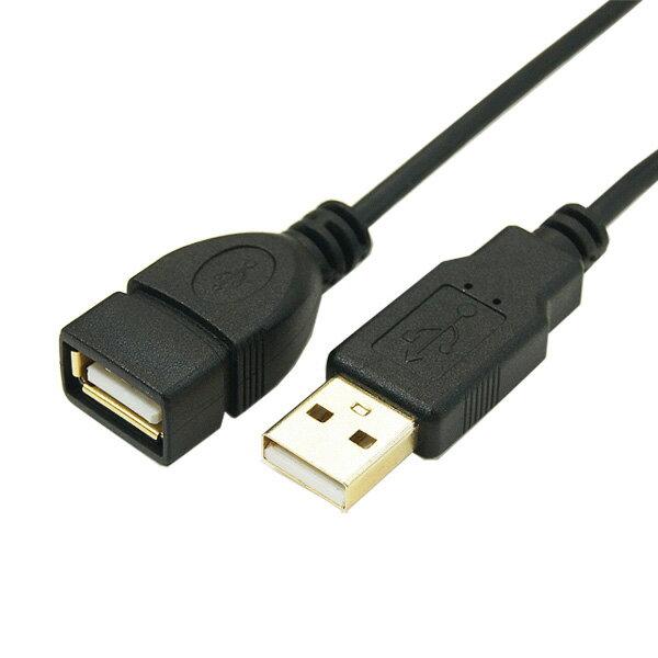 ◆○極細USBケーブル/Aオス-Aメス【変換名人】USB2A-AB/CA500