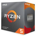 ◇AM4【AMD】Ryzen 5 3600 with Wraith Stealth cooler 100-100000031BOX