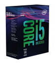 ◆お一人様1個の限定価格となります。Core i5-8600K Box 3.6GHz BX80684I58600K