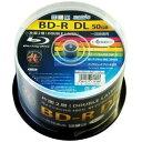 ◆在庫のみ!BDV-R6倍/50枚/50GB/ワイドP【HI DISC】HDBDRDL260RP50