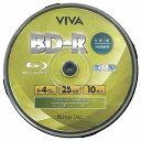 ◆○4倍速/BDV-R/10枚/25GB/ワイドP【VIVA】VR4-10P