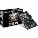 ◆C232 ATX Xeon、サーバーOSサポート【ASRock】E3V5 WS