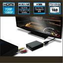 ◆アップスキャンコンバーター/コンポジット出力をHDMIに変換【AREA】SD-CSH1