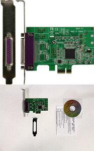 ◆パラレルポートを最新のPCI-Express X1ボード【玄人志向】1P-LPPCIE2