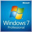 ◆在庫のみ特価品!【MICROSOFT】Windows 7 Professional 64Bit OEM DVD日本語版 DSP版新パッケージ