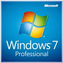 ◆在庫のみ特価品!【MICROSOFT】Windows 7 Professional 64Bit OEM DVD日本語版 DSP版新パッケージ