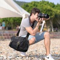 一眼レフカメラバッグレンズケースインナーケースソフトクッションボックス付きおしゃれショルダーバックパックキャンバス素材・帆布生地防水仕様カメラ・レンズ保護用iPad入り可男女兼用アウトドア撮影の絶品!DSLRCameraShoulderBackpackBagBTDB01