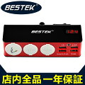 BESTEK シガーソケット usb 4ポート 3連 増設 12V 24V 対応 シガーライター 電圧計 機能搭載 車載 ...