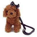 ぬいぐるみ型バッグ|トイプードル ミニポシェット (かわいい犬のぬいぐるみ 斜めがけ プレゼント)