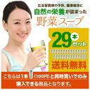 【送料無料】野菜スープ100円 <29本プラス>