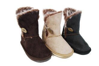 314-150 BOA wrap boots faux suede chip to flip CHIP TRIP kids shoes