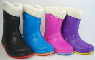 19.5cm-23.5cm ボアインナー with rubber-weight ★ boots rain shoes boots kids kids / junior kindergarten and school, rain and snow response