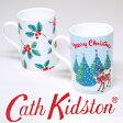 【送料無料】キャスキッドソン 正規品,食器 Cath Kidston クリスマス マグカップ 2個セット ファインボーンチャイナ マグ Mug【楽ギフ_メッセ入力】【楽ギフ_のし宛書】【楽ギフ_包装選択】05P04Jul15