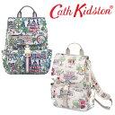 【本州送料無料】キャスキッドソン Cath Kidston 正規品 リュックサック BUCKLE BACKPACK マザーズバック A4
