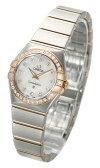 オメガ(OMEGA) コンステレーション ブラッシュクォーツ 123.25.24.60.55.001 レディースサイズ[新品][時計][腕時計]