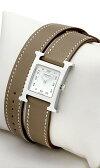 エルメス(HERMES) Hウォッチ ドゥブルトゥール HH1.210.131/WW182 レディースサイズ[新品][時計][腕時計]