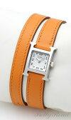 エルメス(HERMES) Hウォッチミニ HH1.110.131/WOR1 レディースサイズ[新品][時計][腕時計][0601楽天カード分割]