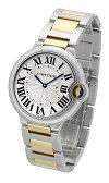 カルティエ(CARTIER) バロンブルーMM W69008Z3 レディースサイズ[中古][時計][腕時計]