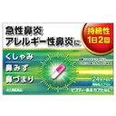 【指定第2類医薬品】 新ビスティー鼻炎カプセルL 24CP